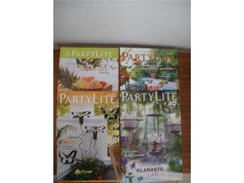 Partylite sommarkataloger 4 st. 2009,2010,2011 och 2013 - överhörnäs - Partylite sommarkataloger 4 st. 2009,2010,2011 och 2013 - överhörnäs