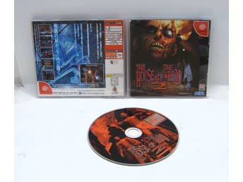 The house of the Dead 2 till japanskt Dreamcast DC