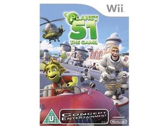 PLANET 51 THE GAME (komplett) till Nintendo Wii