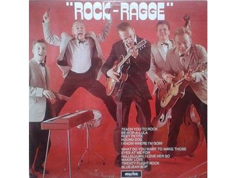 Rock-Ragge title* Rock-Ragge* Rock & Roll, Rockabilly LP SWE
