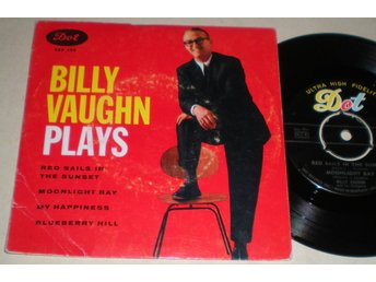 Billy Vaughn EP/PS Red sails in the sunset 1959
