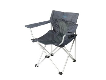 Camp Gear Hopfällbar campingstol Deluxe Classic antracit 1204745