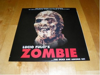 Zombie - AC-3 - Widescreen collector's edition - 1st Laserdisc