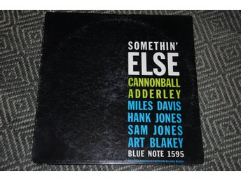 CANNONBALL ADDERLEY - Miles Davis - Somethin' Else - BLUE NOTE LP