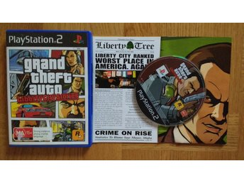 PlayStation 2/PS2: Grand Theft Auto GTA Liberty City Stories