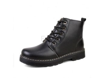 Dam Boots Female Botas Fashion Footwear Size 35-40 Black 36