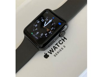 Apple Watch Series 3 Space Gray 42mm (modell A 1859 (nyaste modellen))
