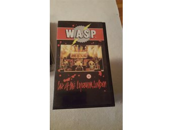 W.a.s.p . Wasp Live at Lyceum 1984...full show...signed by Randy