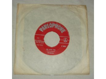 BEATLES - SHE LOVES YOU, Norway 1963 single Parlophone