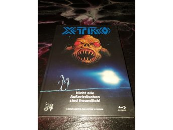 X-TRO LIMITERAD MEDIABOOK BLU-RAY  84 ENTERTAINMENT