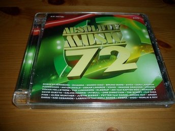 2-CD Absolute music 72  Mycket fint skick !