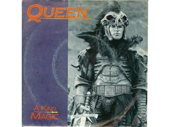 Queen  - 7´ A kind of magic / A dozen red roses for my darling  1986  VG+