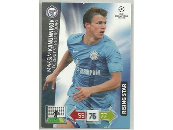 RISING STAR- KANUNNIKOV -CHAMPIONS LEAGUE 2012-2013