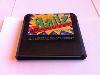 MD: Ballz - Fighting at its Ballziest (Enbart kassett)