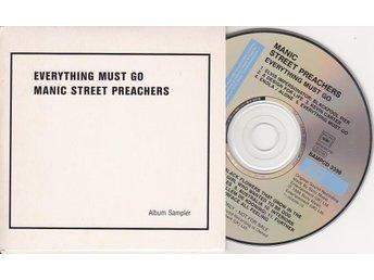 MANIC STREET PREACHERS: Everything Must Go - RARE PROMO-CD - L-k - MANIC STREET PREACHERS: Everything Must Go - RARE PROMO-CD - L-k