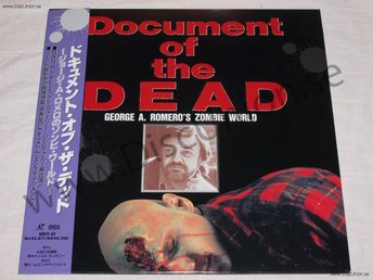 DOCUMENT OF THE DEAD - GEORGE ROMEROS ZOMBIE WORLD JAPAN LD