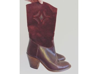 Vintage boots 37 70-tal