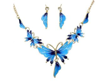 Blue GP Enamel Fringe SET