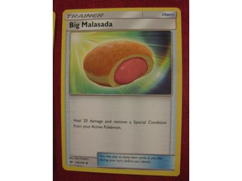 BIG MALASADA - POKEMON TRAINER - SUN & MOON - 114/149 - Hörby - BIG MALASADA - POKEMON TRAINER - SUN & MOON - 114/149 - Hörby