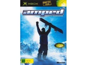 XBOX - Amped : Freestyle Snowboarding