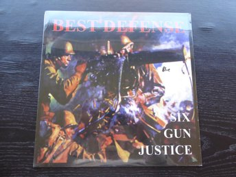 BEST DEFENSE - Six gun justice OI! Haunted town USA -99  LP