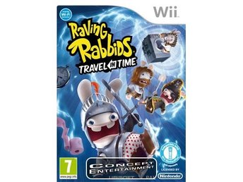 RAVING RABBIDS TRAVEL IN TIME (komplett) till Nintendo Wii