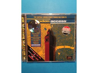 London Access CD-ROM, The central London street finer for your PC
