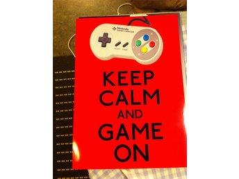 Nintendo keep calm and game on print A4 - örebro - Nintendo print Nintendo keep calm and game on Format A4 Jag paketerar det mellan två kartongskivor och skickar de som vanligt brev om köparen ej betalar extra frakt för att få de skickat på annat sätt. Se gärna mina andra auktioner med tv - örebro