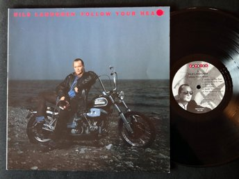 NILS LANDGREN (M-) – Follow Your Heart / Vinyl LP Sweden 1990 / A TOP COPY