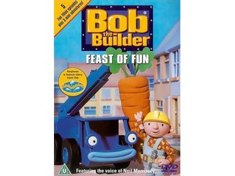 Bob The Builder - Byggare Bob - Feast Of Fun - DVD