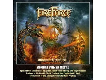 Fireforce: Annihilate the evil 2017 (CD)