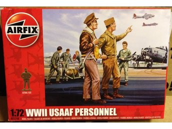 WWII USAAF PERSONNEL      AIRFIX  1/72 Byggsats