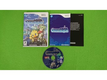 Final Fantasy Fables Chocobos Dungeon KOMPLETT Nintendo Wii