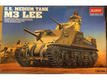 M3 LEE US MEDIUM TANK    ACADEMY 1/35 Byggsats