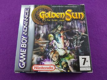 Gameboy advance Golden Sun The Lost Age Komplett Svenskt Mycket Fint Skick