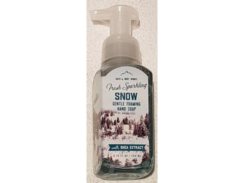 FRESH SPARKLING SNOW Bath Body Works Gentle Foaming Hand Soap tvål USA vinter