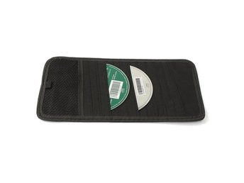 12 Disc Capacity CD Car Sun Visor Storage DVD Holder Blac...