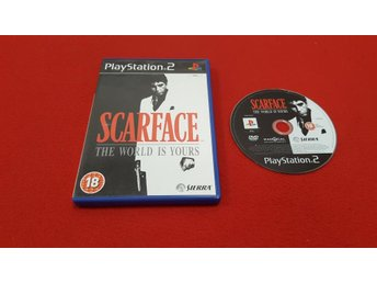 SCARFACE till Sony Playstation 2 PS2