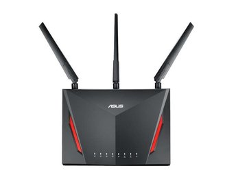 ASUS RT-AC86U NORDIC Wireless Router Gigabit 802.11ac 2167+750Mbps WLAN USB3.0 A