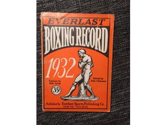 Everlast Boxing Record 1932