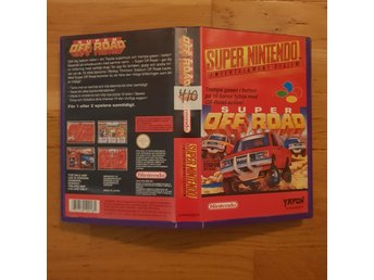 Super Off Road - Hyrbox - Super Nintendo Yapon SNES