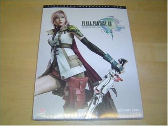 FINAL FANTASY XIII 13 GUIDE WALKTHROUGH PIGGY PLAYSTATION 3 & XBOX 360 *NYTT*