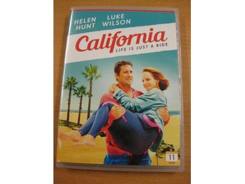 CALIFORNIA LIFE IS JUST A RIDE  -  HELEN HUNT, LUKE WILSON - DVD 2015