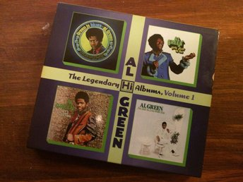 Al Green - THE LEGENDARY HI RECORDS ALBUMS- Volume 1 (2 disc)