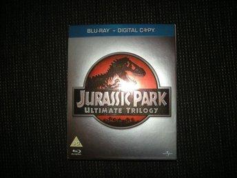 Bluray Jurassic Park Ultimate Trilogy 6 Skivor! - Limhamn - Bluray Jurassic Park Ultimate Trilogy 6 Skivor! - Limhamn
