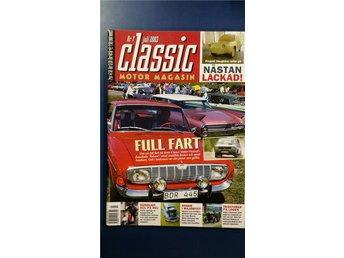 Classic Motor nr 7 2003: Opel Rekord 1968, Morris Minor, Oldsmobile 1965 - Uppsala - Classic Motor nr 7 2003: Opel Rekord 1968, Morris Minor, Oldsmobile 1965 - Uppsala