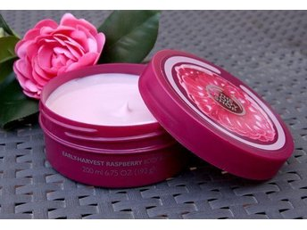 The Body Shop Raspberry Body Butter 200 ml Ny/Oöppnad! - Munkedal - The Body Shop Raspberry Body Butter 200 ml Ny/Oöppnad! - Munkedal