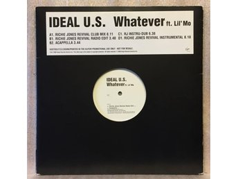 IDEAL U.S. / Whatever ft. Lil' Mo  -- 2 x 45 rpm maxisingel - promo!!