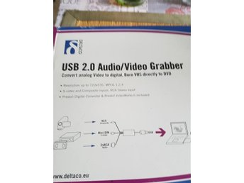 Deltaco Usb 2.0 Audio / Video Grabber