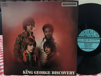 KING GEORGE DISCOVERY UNPLAYED MINT LP 2 LIFE MEMBERS HEAVY PSYCH RARE HAPARANDA